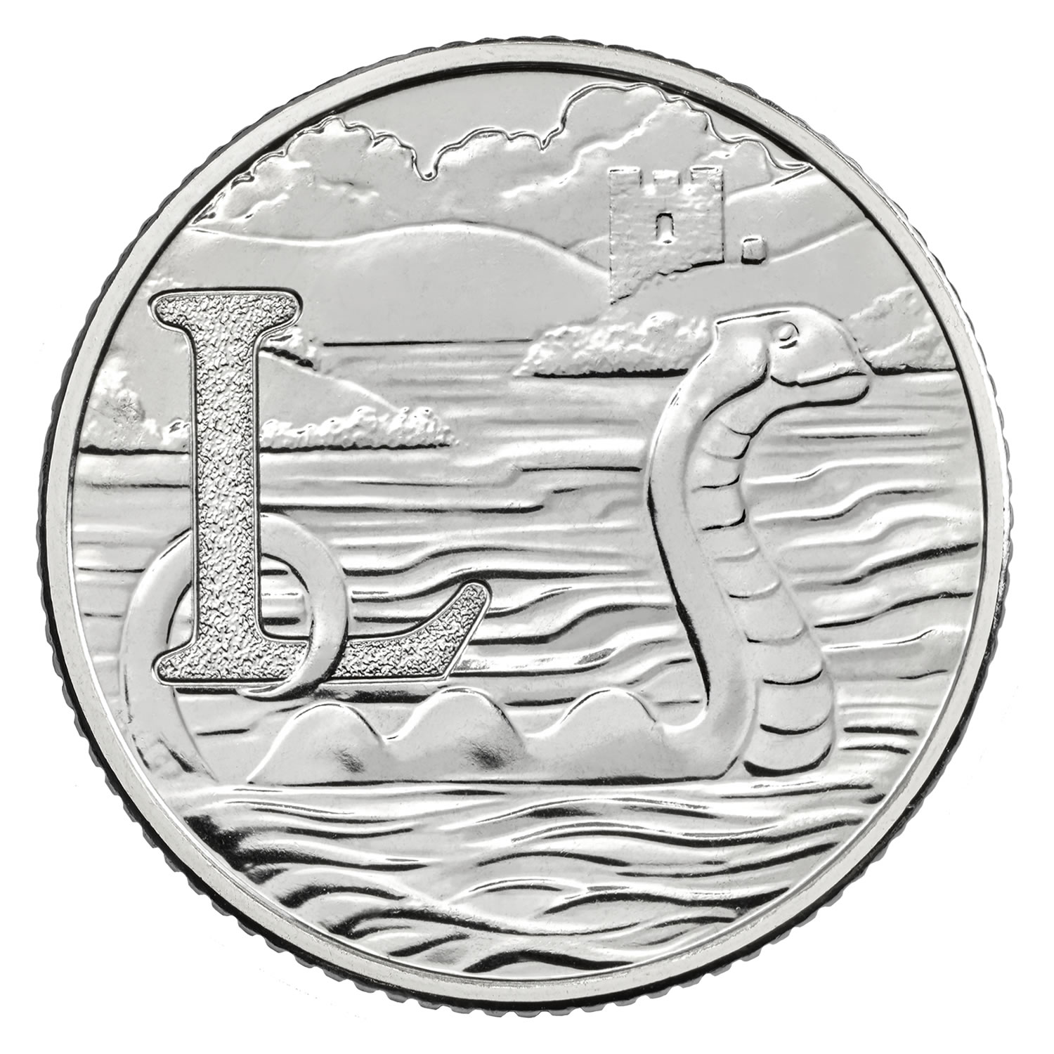 L - Loch Ness Monster 2018 UK 10p Early Strike Uncirculated Coin