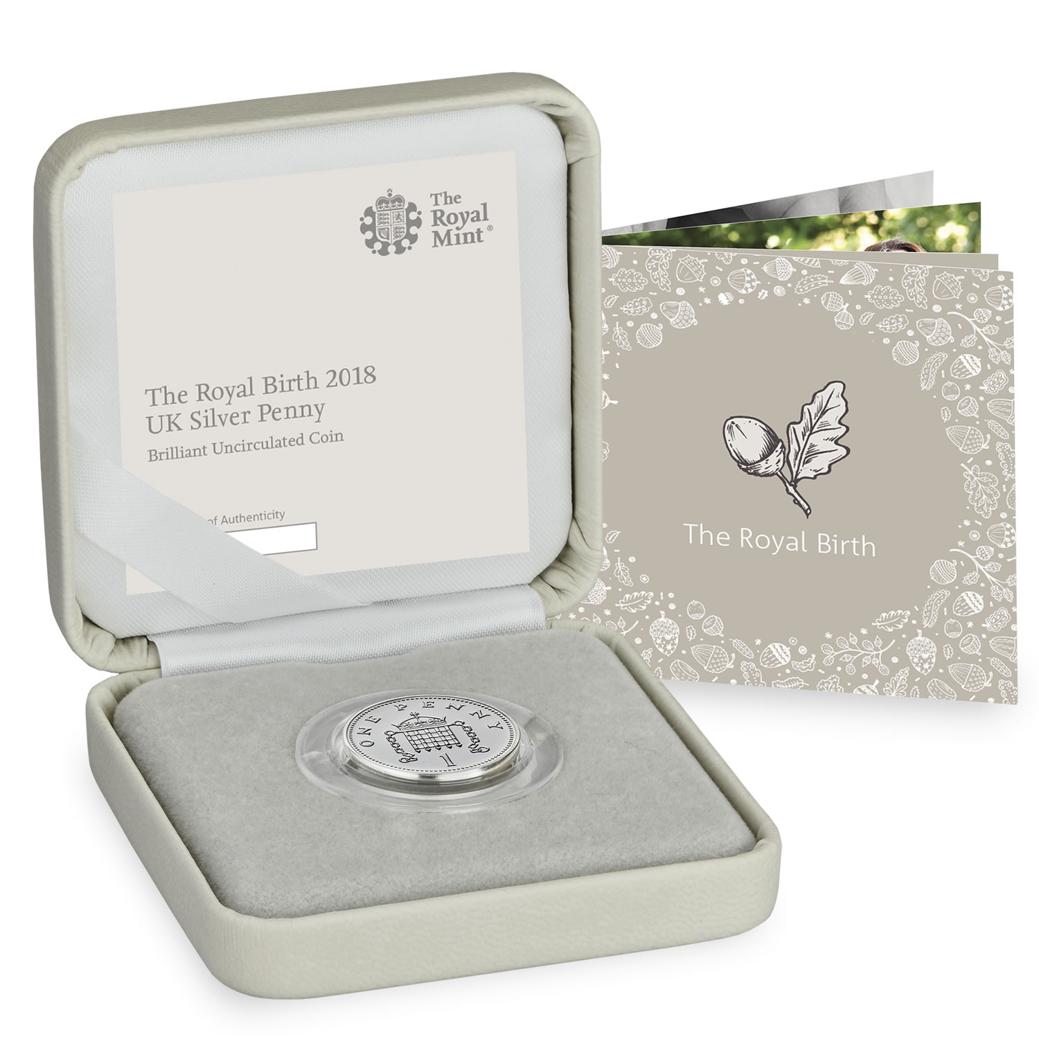 Royal Baby 2018 UK Silver Penny Brilliant Uncirculated Coin