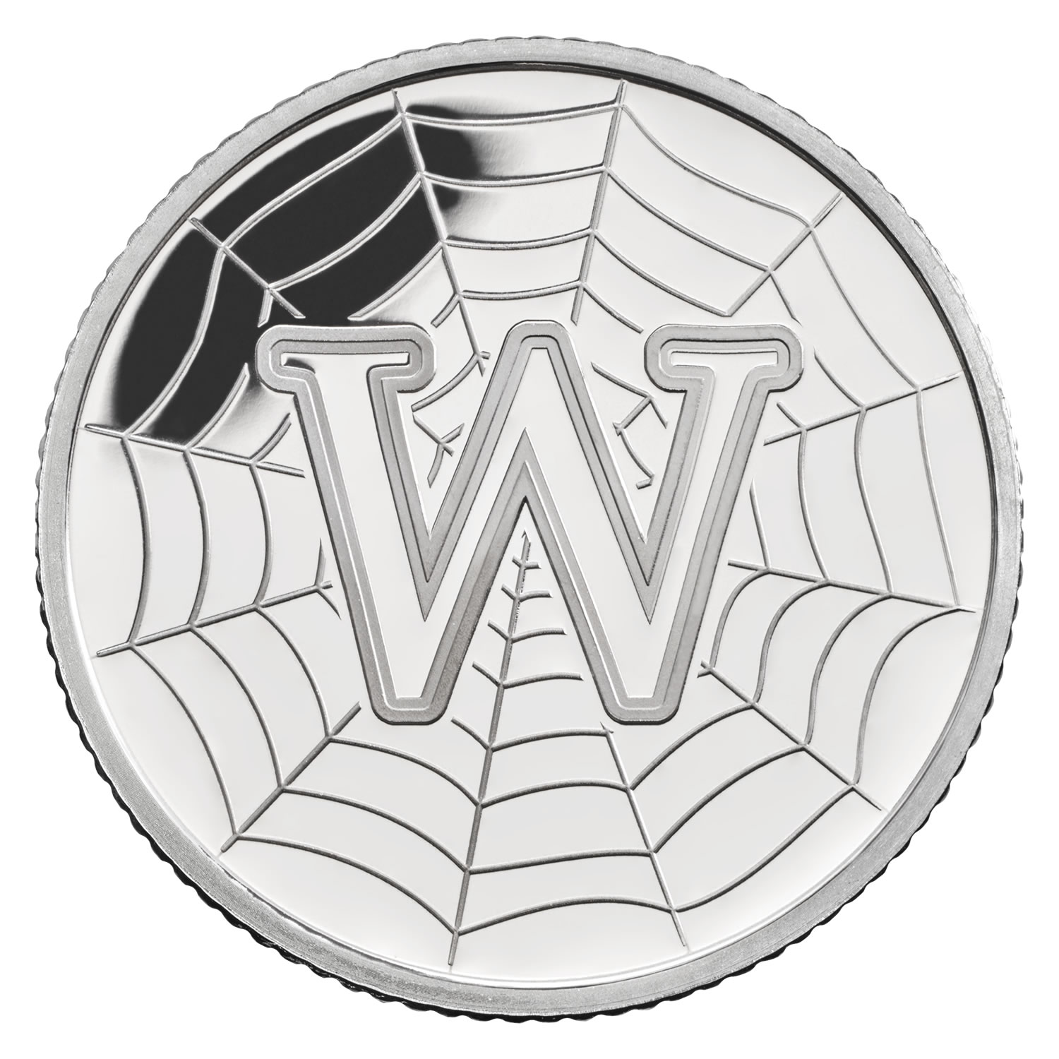 W - World Wide Web 2018 UK 10p Silver Proof Coin