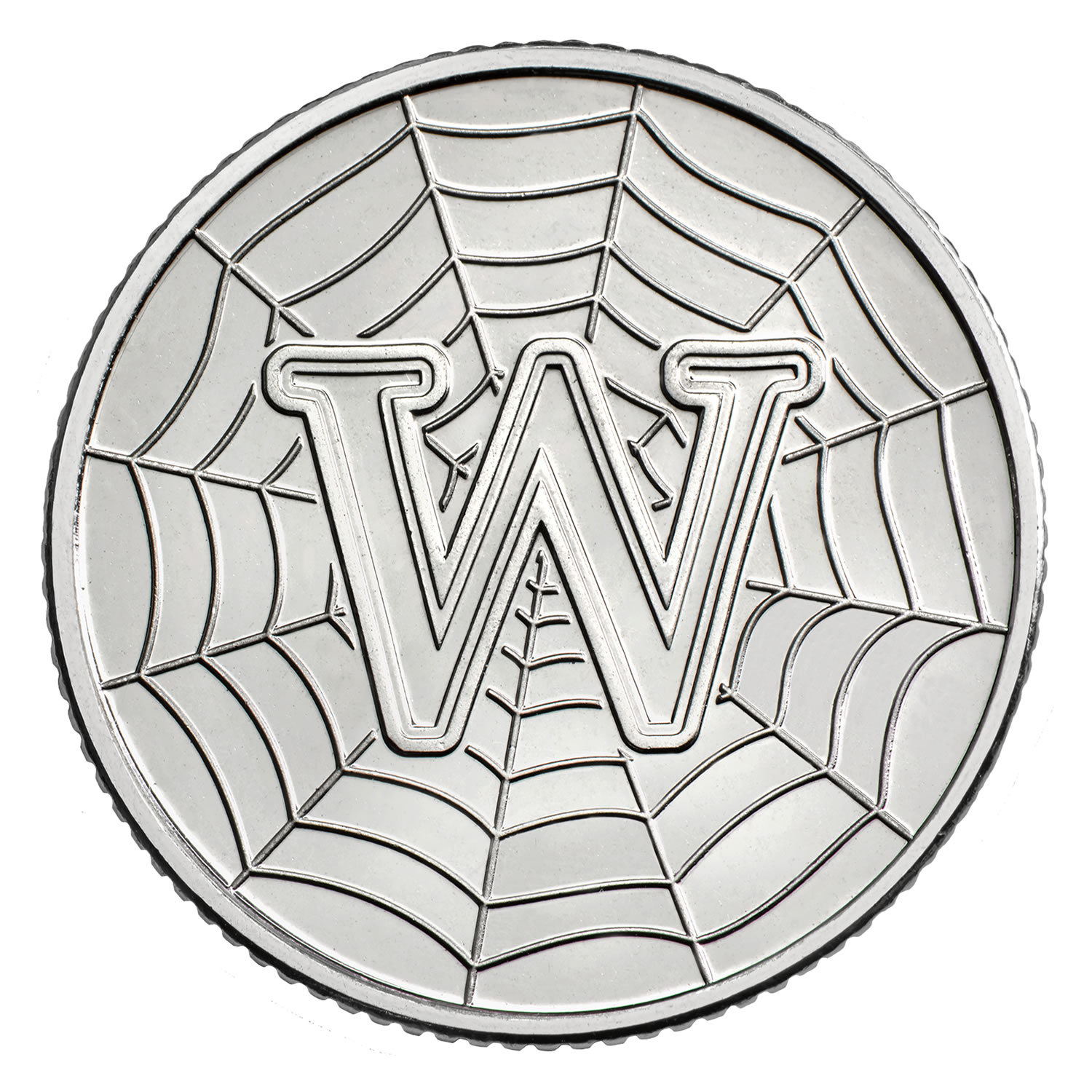 W - World Wide Web 2018 UK 10p Early Strike Uncirculated Coin