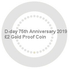 D-day 75th Anniversary 2019 UK £2 Gold Proof Coin