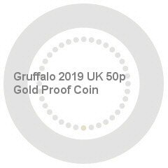 Gruffalo 2019 UK 50p Gold Proof Coin
