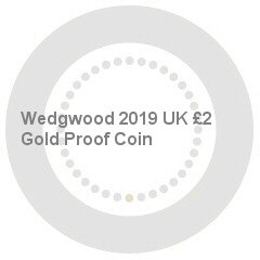 Wedgwood 2019 UK £2 Gold Proof Coin