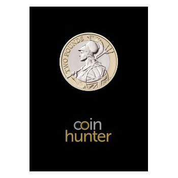 2021 Britannia £2 [Coin Hunter card]