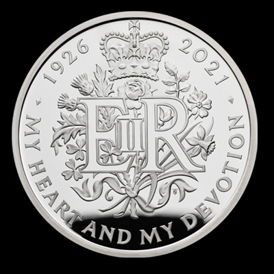 2021 The Queen's 95th Birthday £5