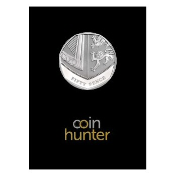 2021 Royal Shield 50p [Coin Hunter card]