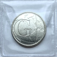 2018 G for Greenwich Mean Time 10p [Uncirculated]