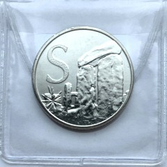 2018 S for Stonehenge 10p [Uncirculated]