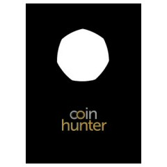 9 x Coin Hunter 50p Coin Cards