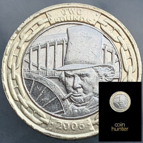 Coin Hunter Premium Circulated Brunel Engineer £2 Coin