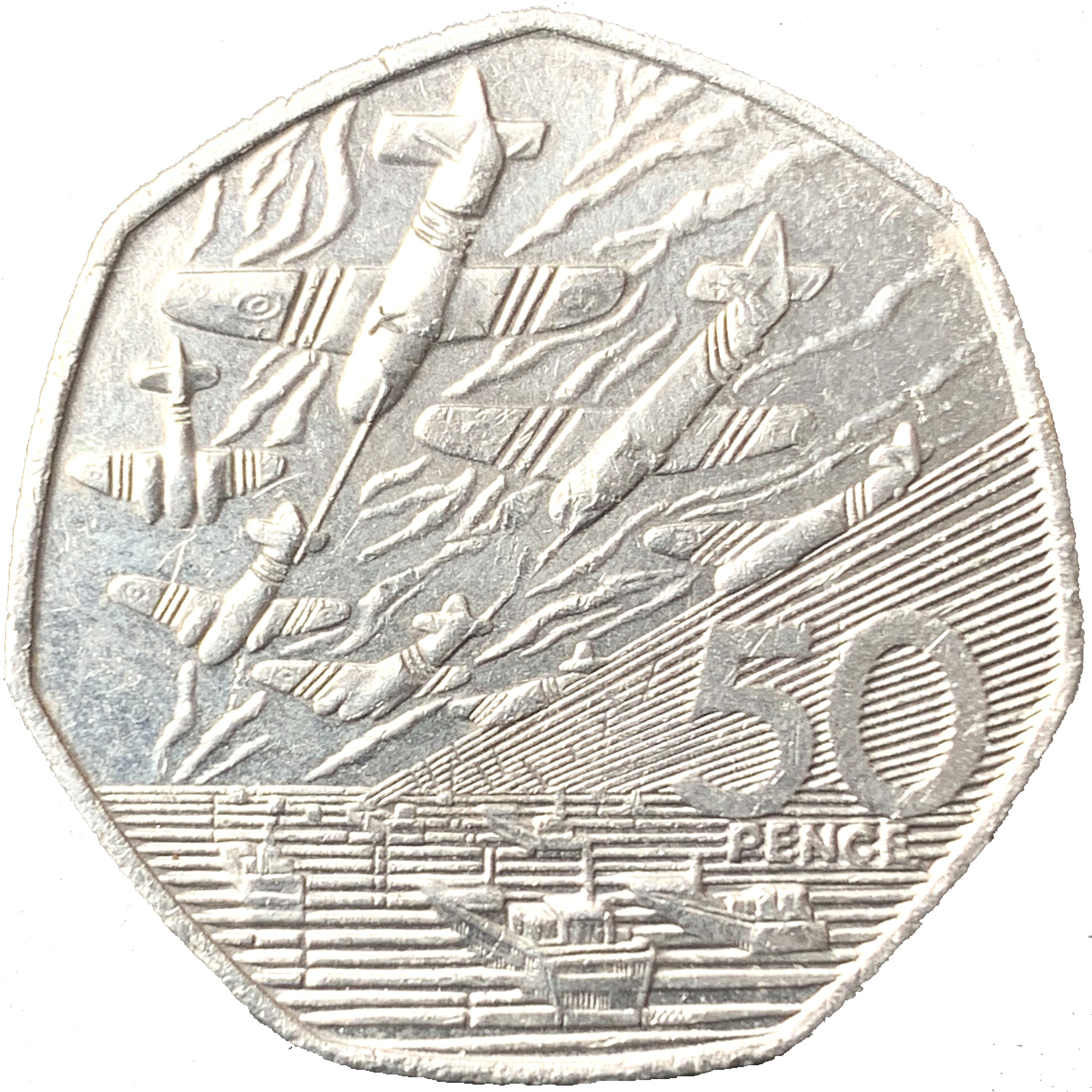 1994 D-Day Landings 50p [Circulated]