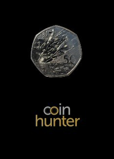 2019 D-Day Landings Brilliant Uncirculated 50p [Coin Hunter card]