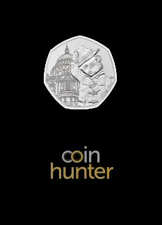 2019 Paddington at St. Paul's Cathedral 50p [Coin Hunter card]