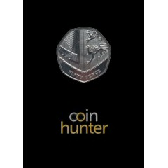 2019 Shield of the Royal Arms Brilliant Uncirculated 50p [Coin Hunter card]