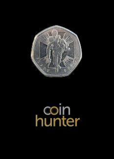 2019 Soldier Brilliant Uncirculated 50p [Coin Hunter card]