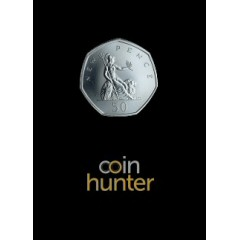 2019 Britannia Brilliant Uncirculated 50p [Coin Hunter card]
