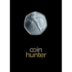 2019 Roger Bannister Brilliant Uncirculated 50p [Coin Hunter card]