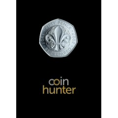 2019 Scouting Brilliant Uncirculated 50p [Coin Hunter card]