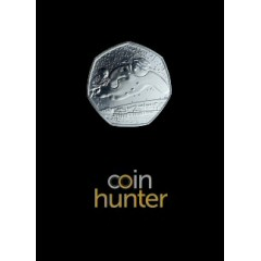 2018 The Snowman Brilliant Uncirculated 50p [Coin Hunter card]
