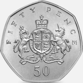 2013 Christopher Ironside 50p [Circulated]