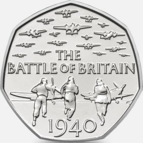 2015 Battle of Britain 50p [Circulated]