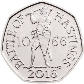 2016 Battle of Hastings 50p [Circulated]