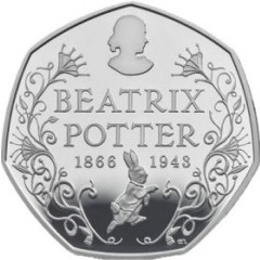 2016 Beatrix Potter Anniversary 50p [Circulated]