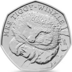 2016 Beatrix Potter Mrs Tiggy-Winkle 50p [Circulated]