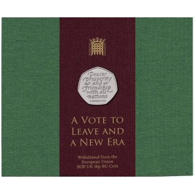 2020 Britain's exit from the European Union (Brexit) 50p [Royal Mint pack]