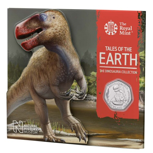 Megalosaurus 2020 Dinosaur 50p [Royal Mint pack]