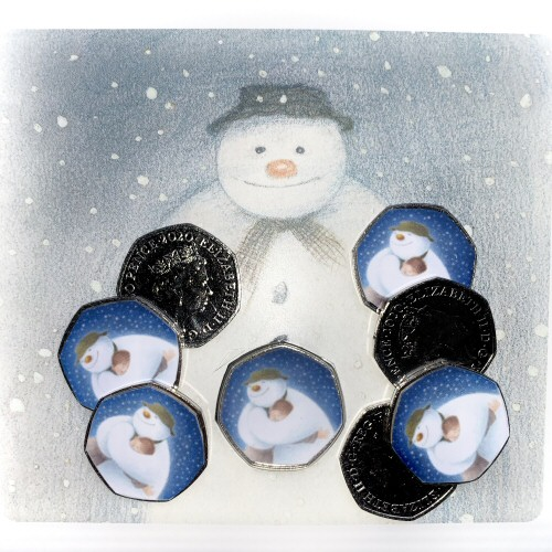 2020 The Snowman and James 50p Coins