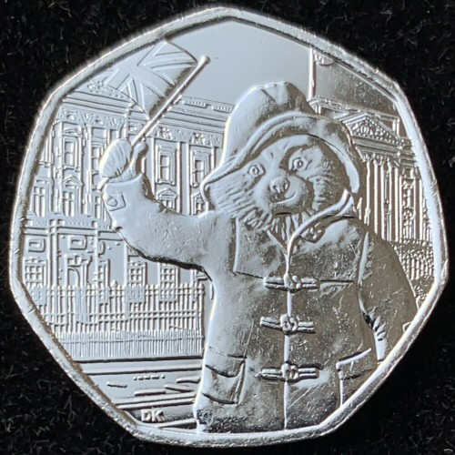 2018 Paddington at Buckingham Palace 50p [Uncirculated]