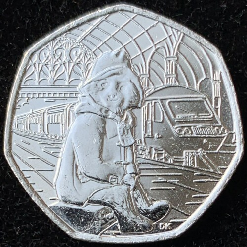 2018 Paddington at the Station 50p [Uncirculated]