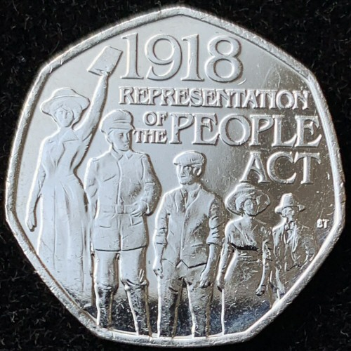2018 Representation of the People Act 50p [Uncirculated]