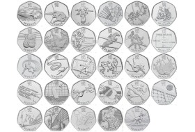 London 2012 50p Sports Collection