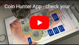 YouTube Video Coin Hunt App